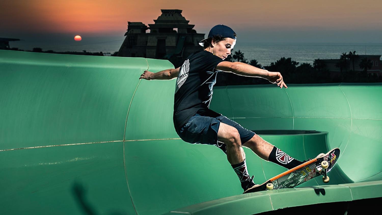 Skaters Dubai Water Park