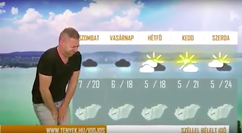 Szilard Horvath weatherman