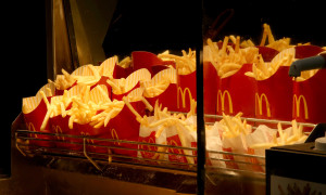 Unlimited McDonalds Fries