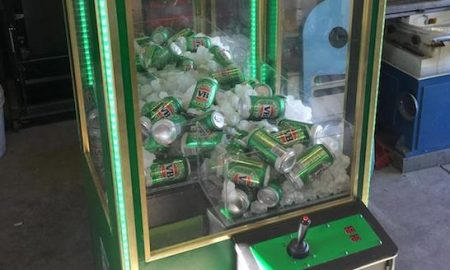 Beer Can Claw Machine