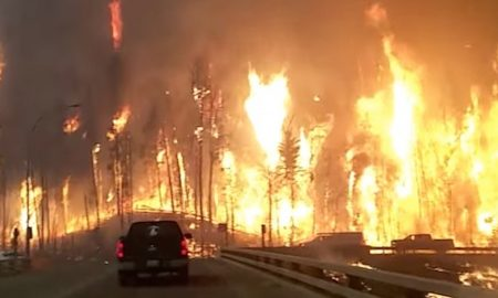 Canadian Dashcam Fire