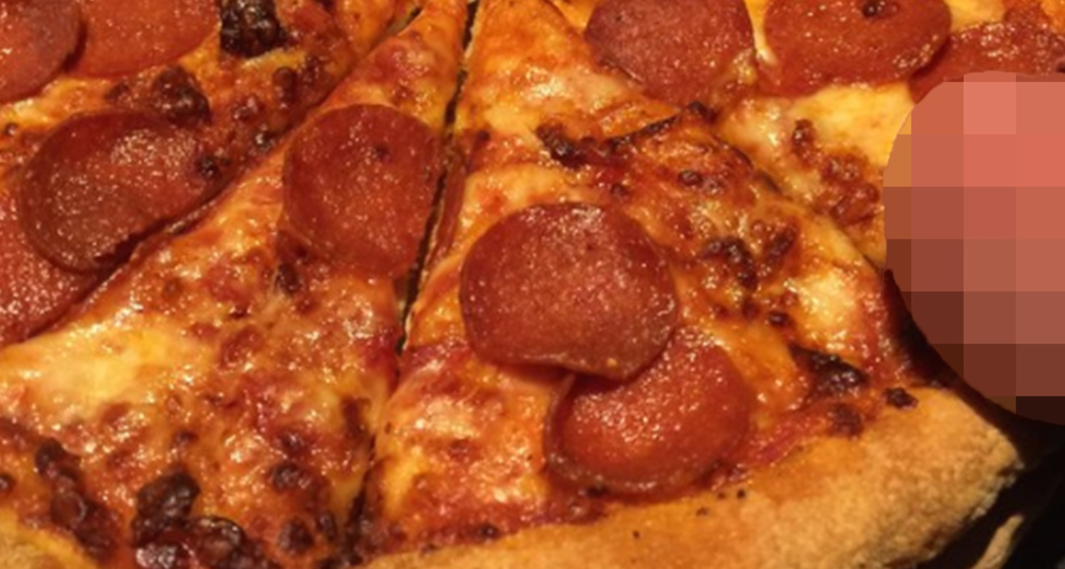 Domino's Pizza Testicle