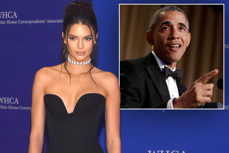 Kendall Jenner Barak Obama