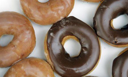 Krispy Kreme nutella doughnut