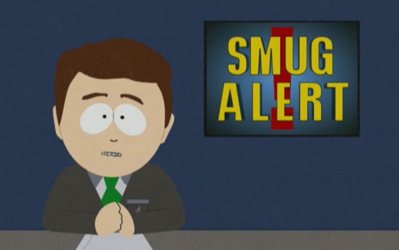 South park smug alert