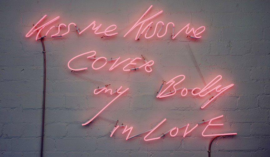 Tracey-Emin-kiss-me