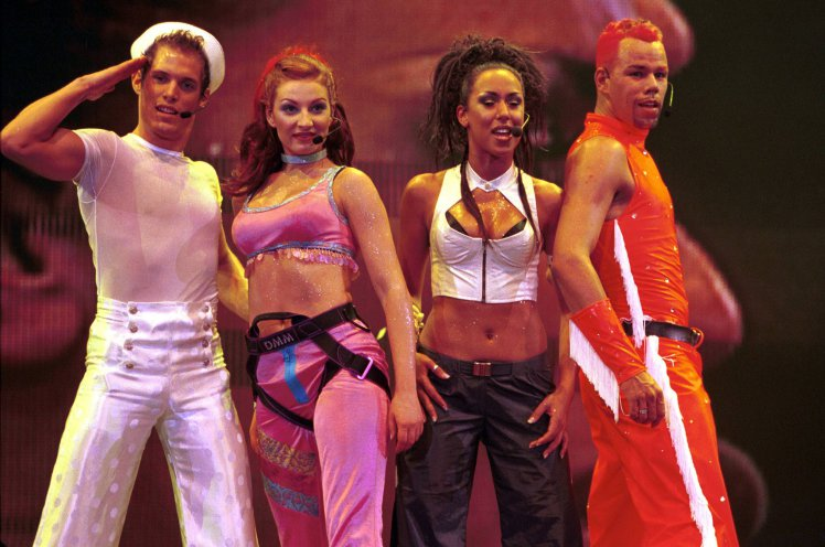 Vengaboys @ the TMF Awards in Rotterdam in 2000.