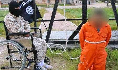 Wheelchair ISIS executioner