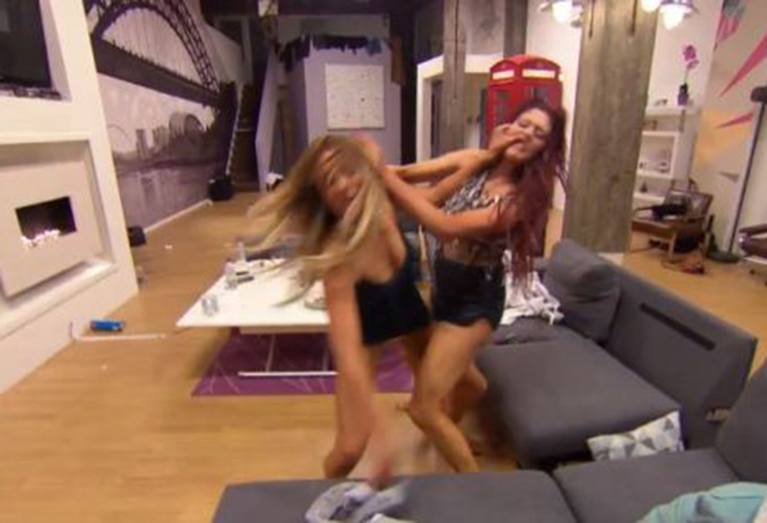 geordie shore girl fight