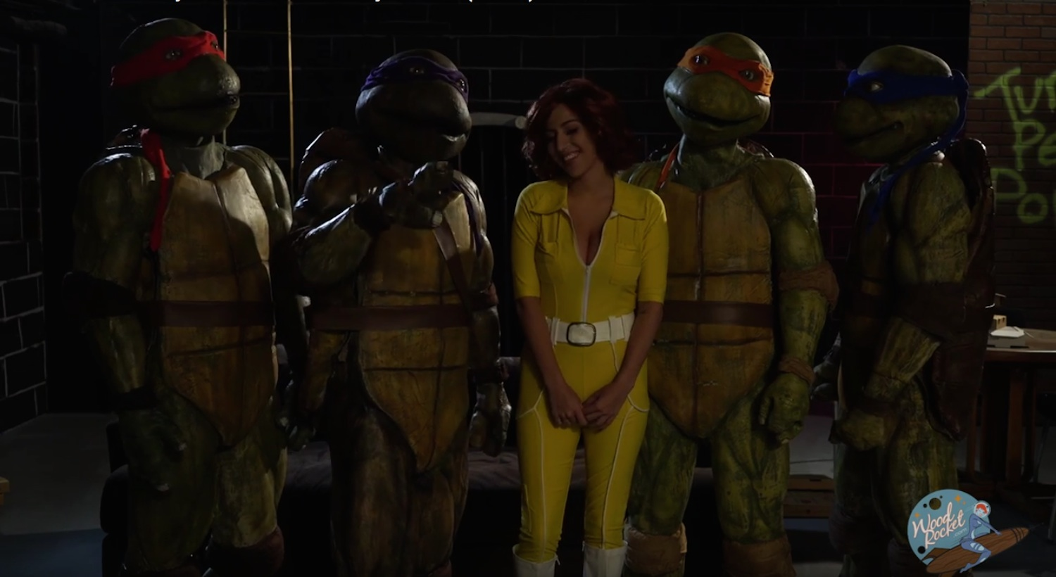 ten inch mutant ninja turtles - the xxx parody