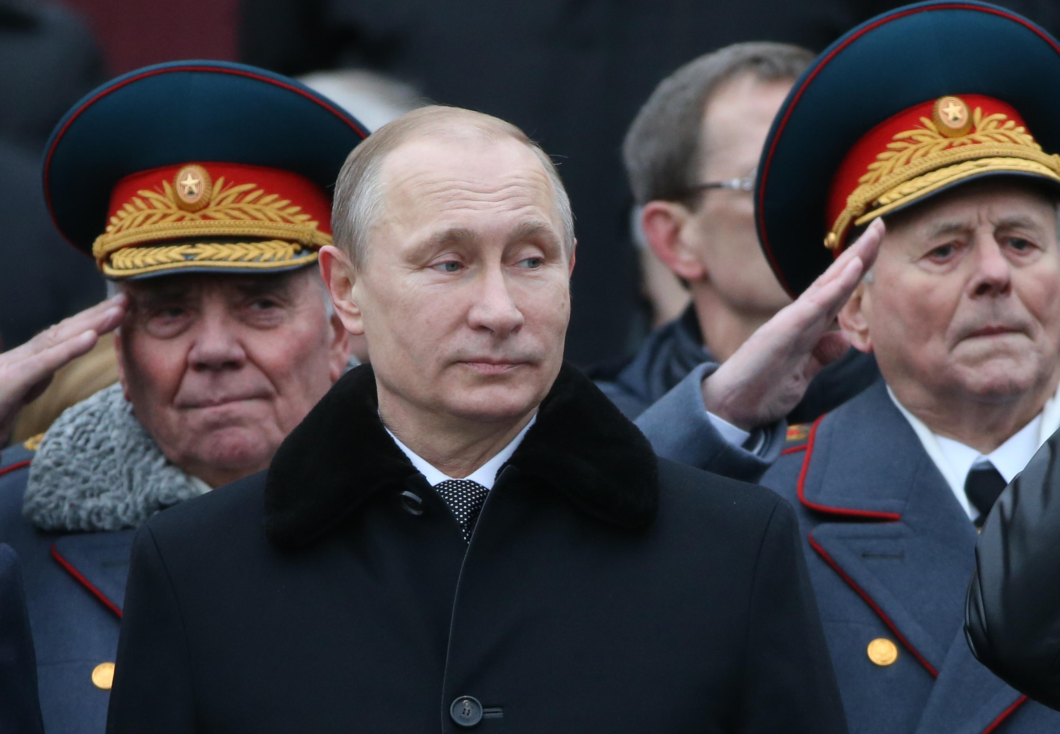 Vladimir Putin army