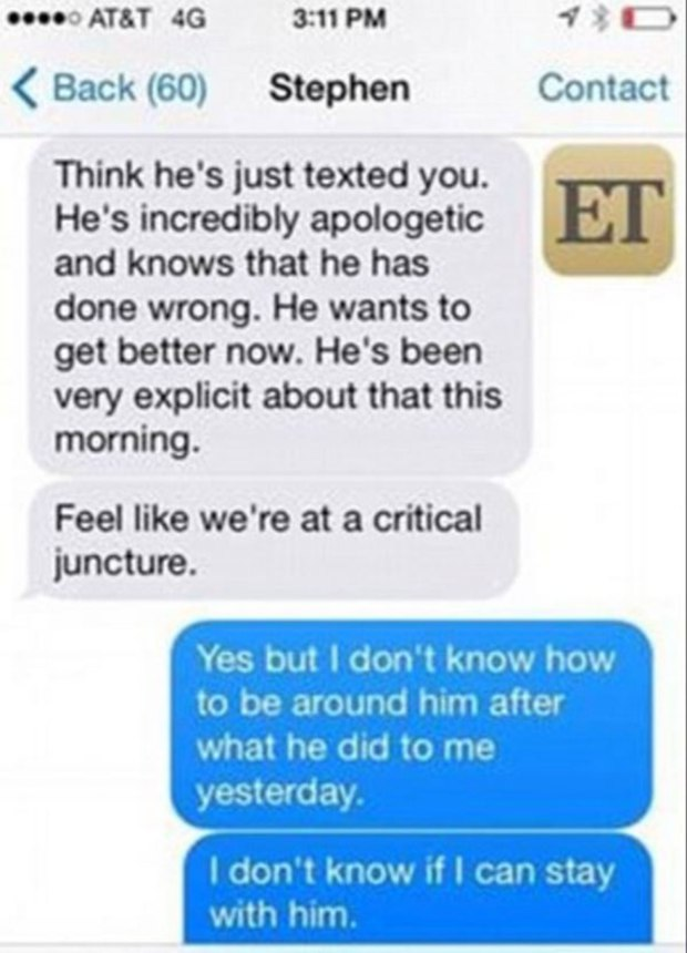 Amber Heard Texts 1