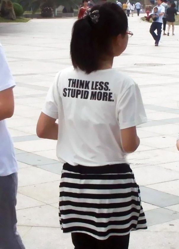 Badly Translated T-shirts 10