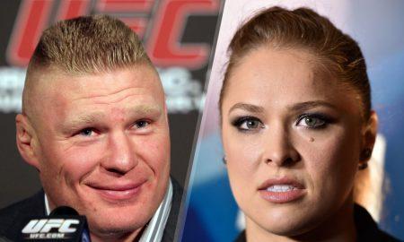 Brock Lesnar Ronda Rousey