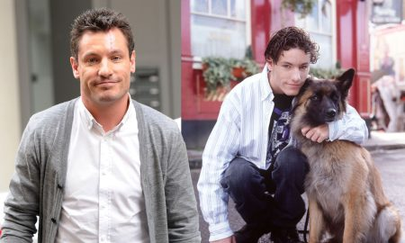 New canine addition to television programme 'EASTENDERS'Actor,