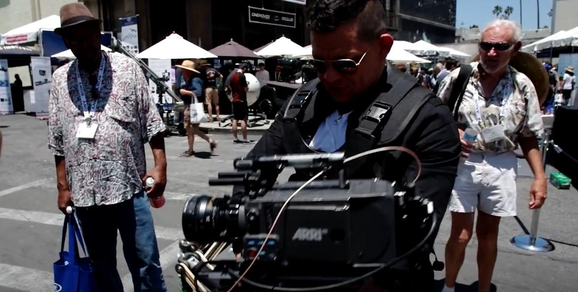 Guy Goofing Around Camera