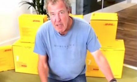 Jeremy Clarkson Carddboard Box
