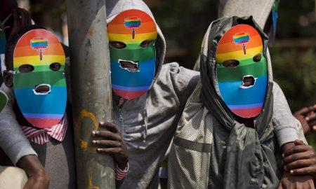 Kenyan LGBT protestors