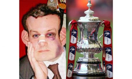 Man FA cup head