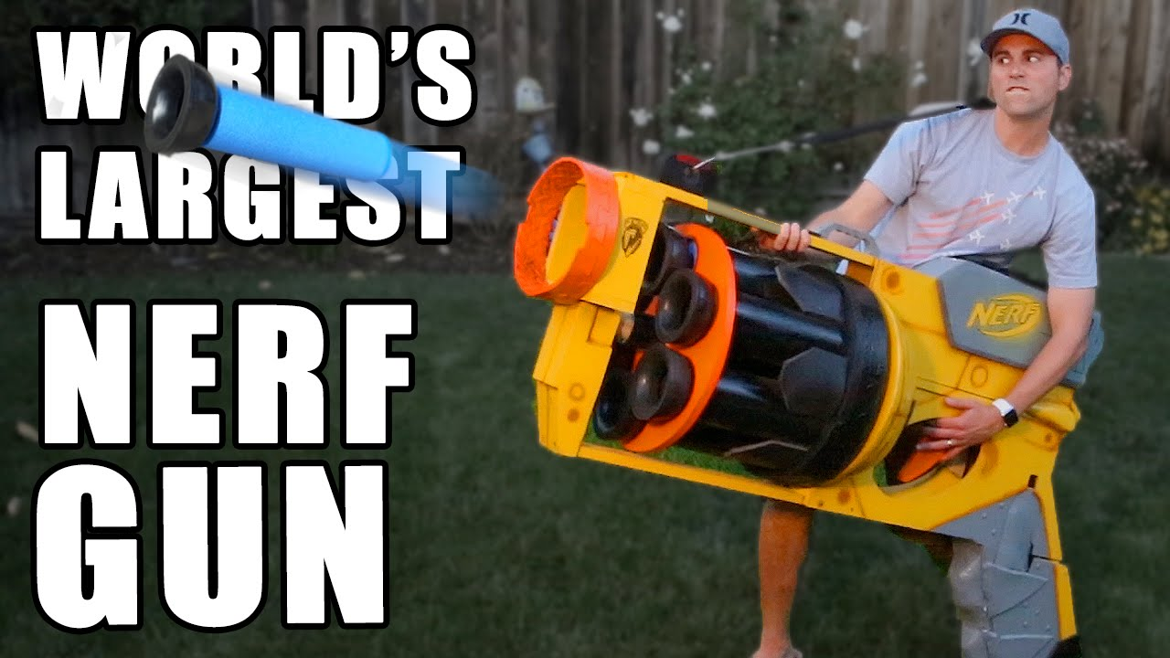 From a five-shot crossbow to a 30-barrel Gatling gun, every blaster for  your kid's Nerf armory.