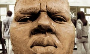 Notorious BIG Statue