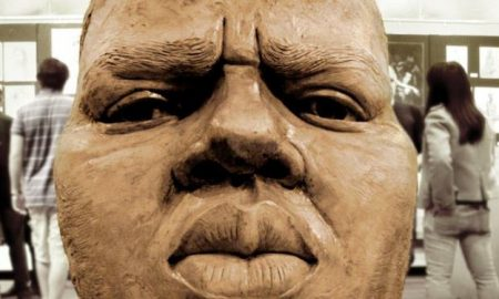 Notorious BIG Statue