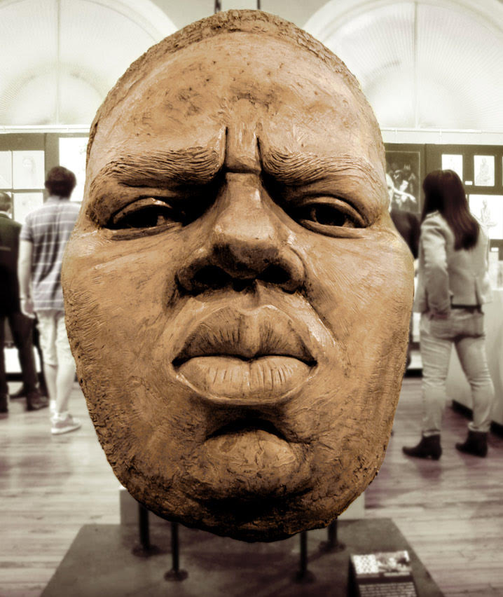 Notorious BIG Statue Full