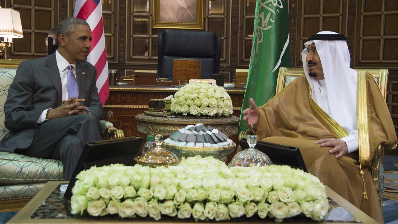 Obama in Saudi