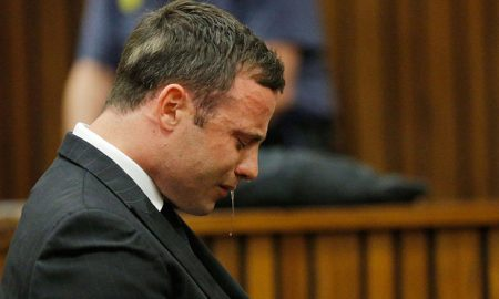 Oscar pistorious cry