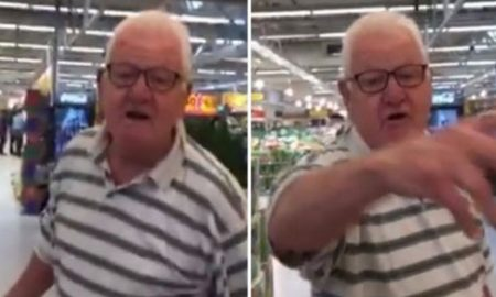 Racist Old Man