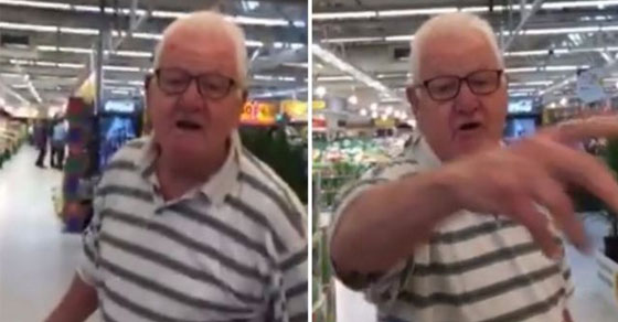 Racist Old Man