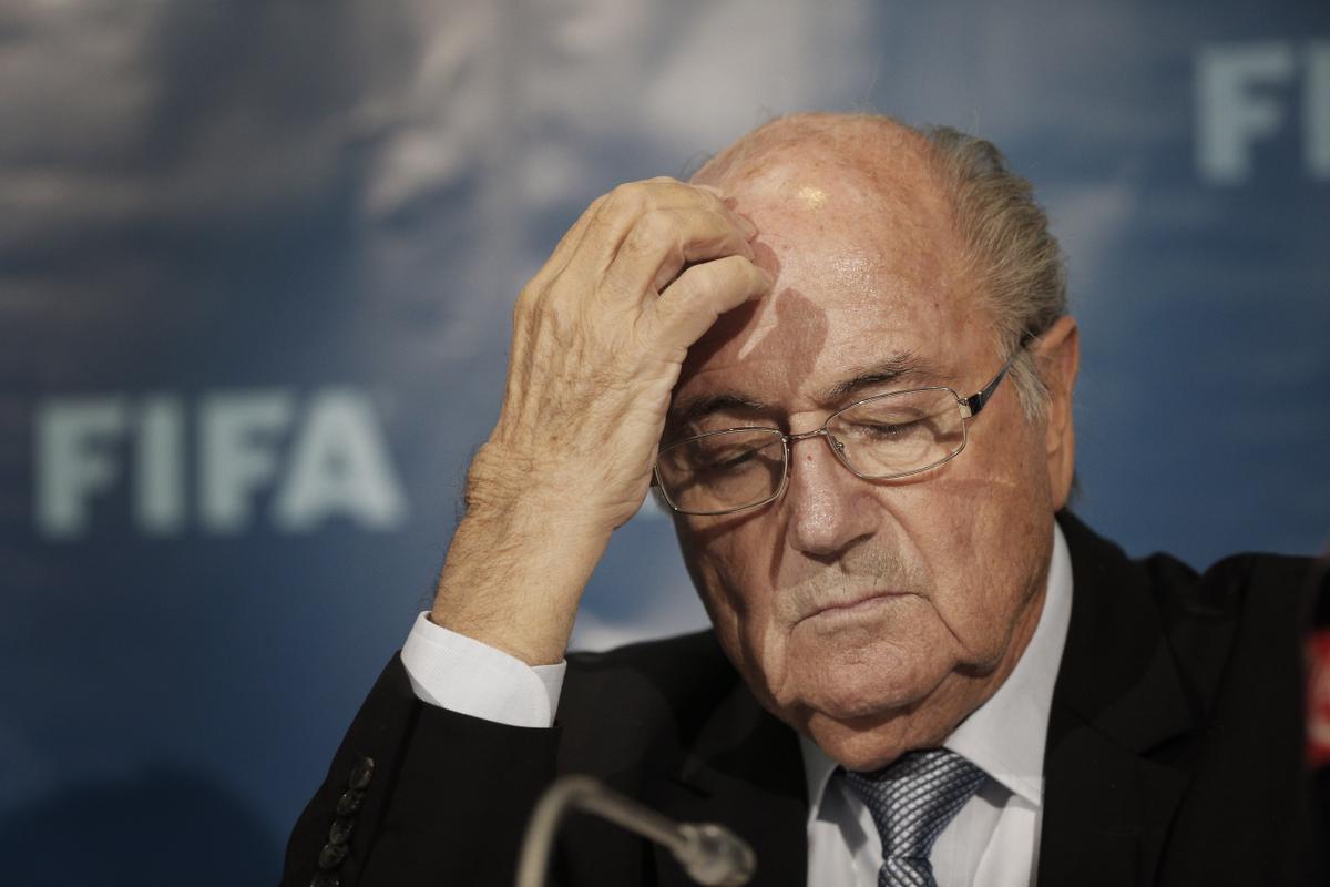 Soccer FIFA Blatter