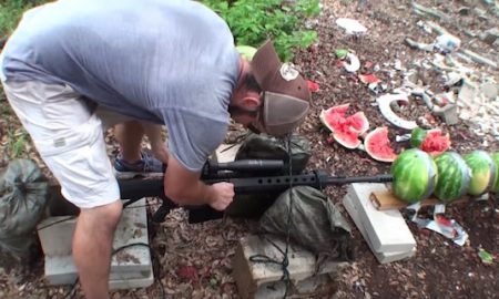 Sniper Rifle Watermelons
