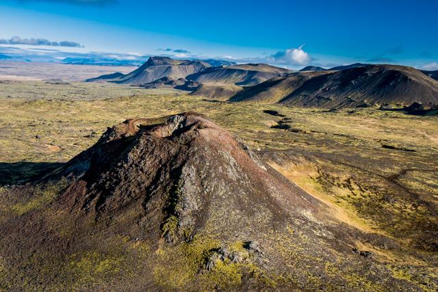 Thrihnuagigur volcano