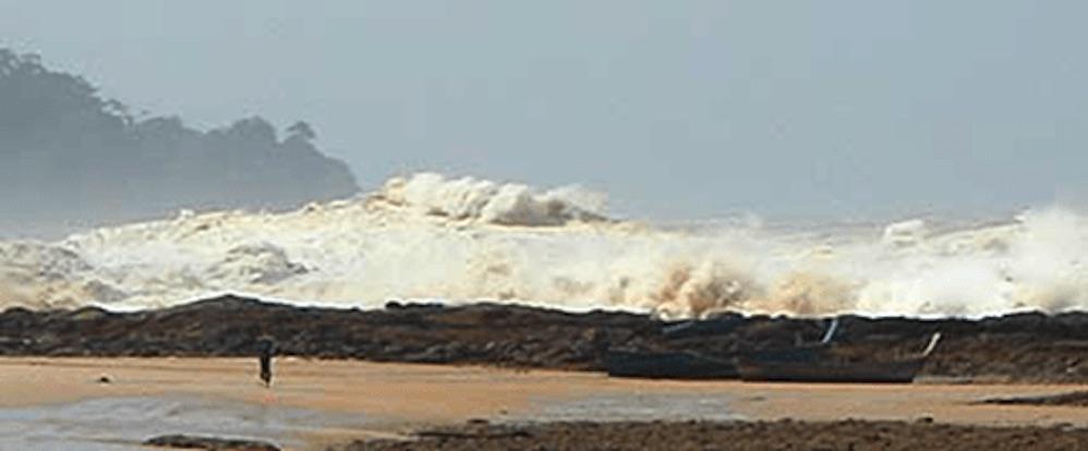 фото отлива воды в океане перед цунами имени историях, связанных
