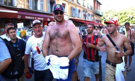 Tyson Fury England Fans