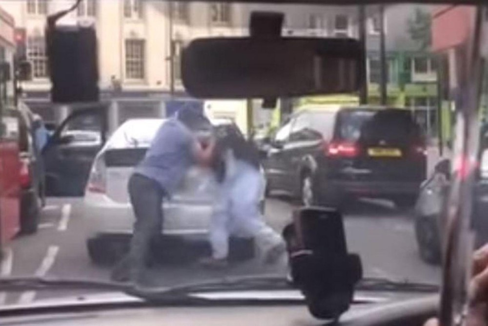 Uber Driver Fight