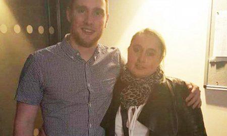 Shane Burke and Mother Rose Bestall