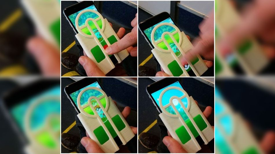 3D Printed Phone Case Pokemon Go