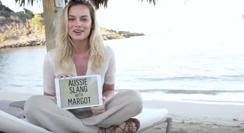 Aussie Slang Margot Robbie