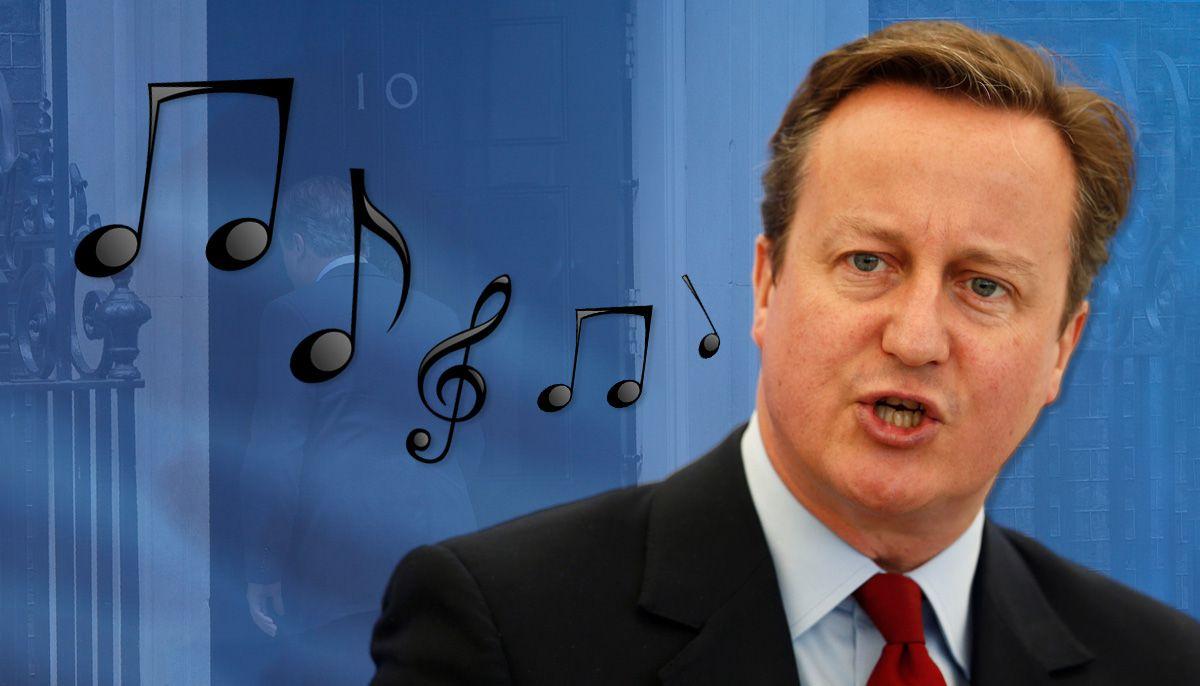 David Cameron Humming