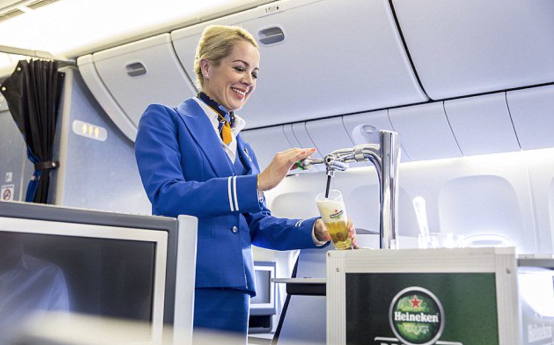 You Can Now Get Draft Beer On Planes Sick Chirpse