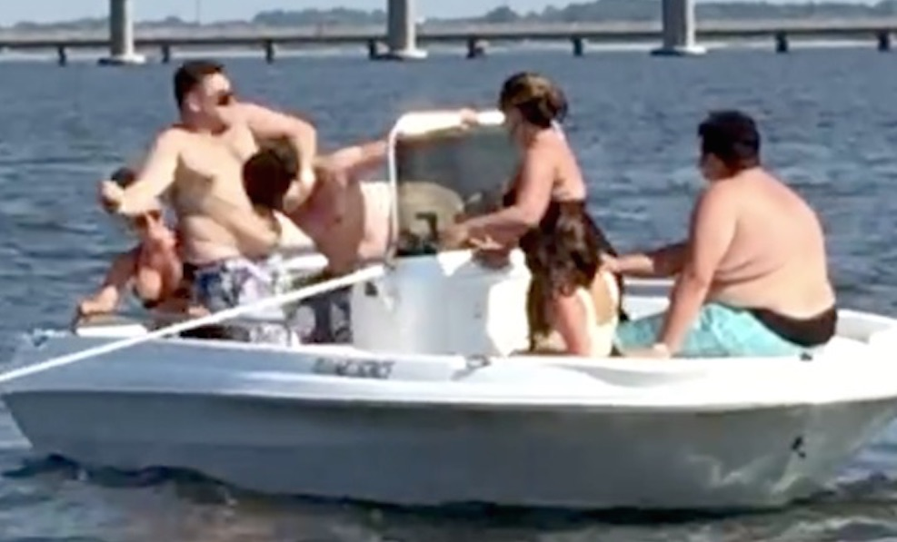 Dumbest Fattest Whitest Boat Party