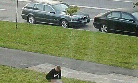 Guy Caught Sex Street