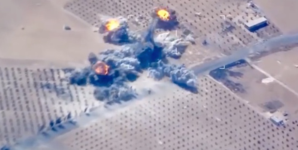 ISIS Blown Up