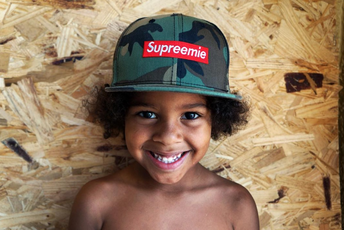 official photos df54c 3fe37 There's A New Kid's Brand Parodying Supreme And Your ...