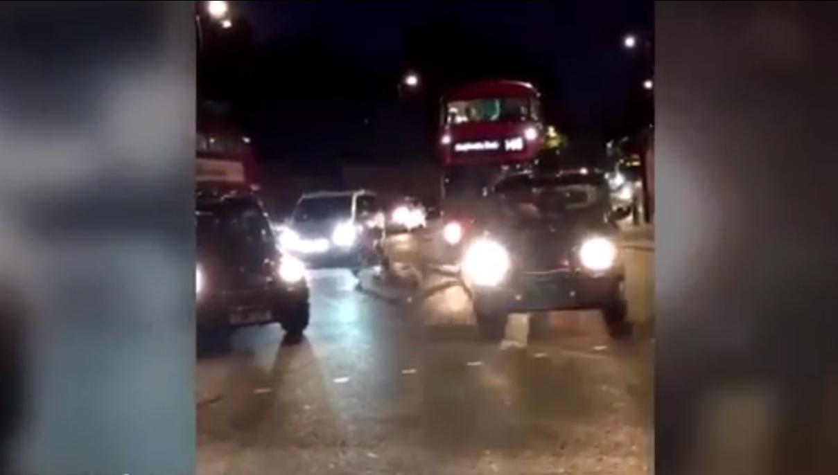 Man stabbed machete london