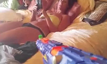 NERF Gun Wife