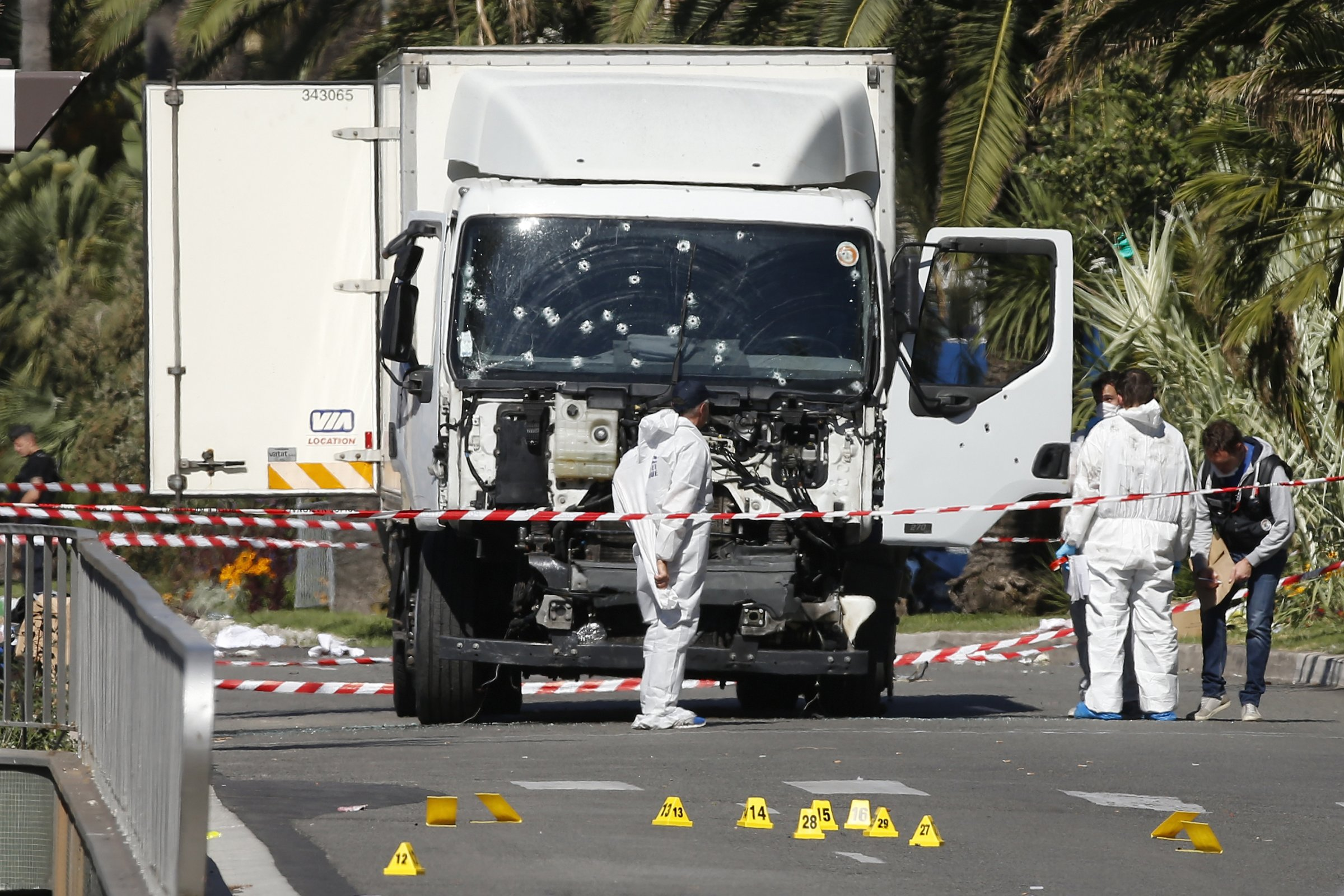 Nice attack truck