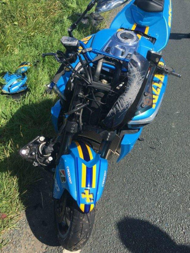 Rizla Branded Motorbike